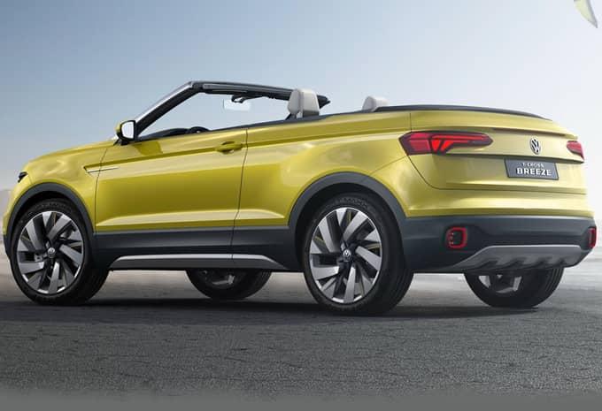 Le concept T-Cross Breeze de Volkswagen fuite avant sa présentation 3