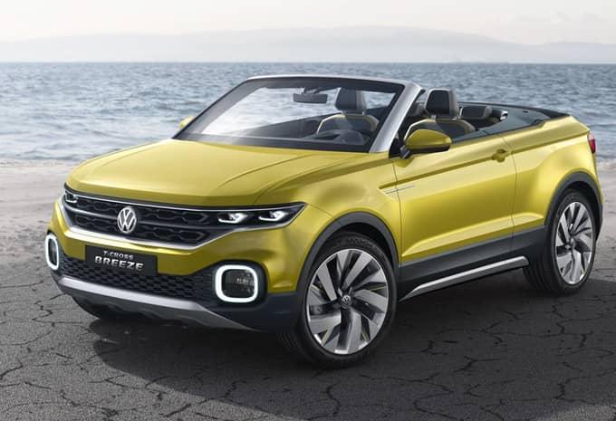 Le concept T-Cross Breeze de Volkswagen fuite avant sa présentation 4