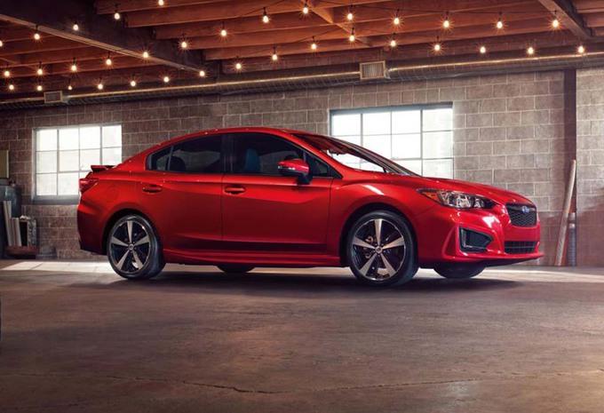 Le plein de nouveautés pour la Subaru Impreza 2017 1