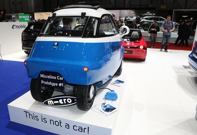 Microlino s'est inspiré de la BMW Isetta pour imaginer la voiturette électrique Microlino 2