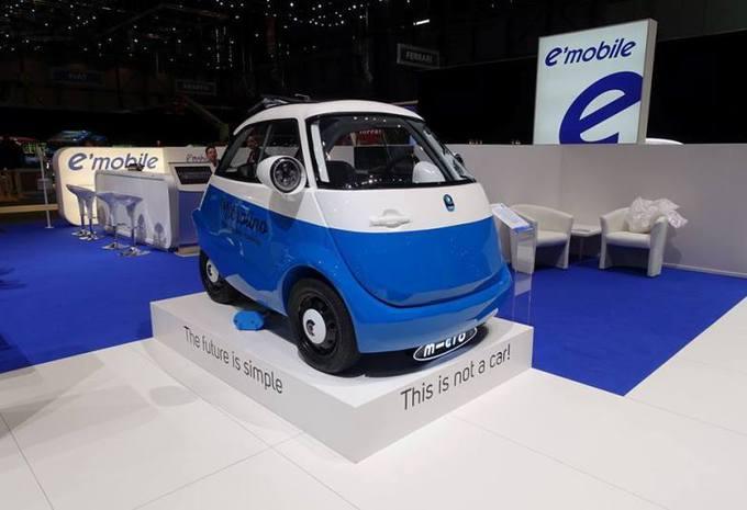 Microlino s'est inspiré de la BMW Isetta pour imaginer la voiturette électrique Microlino 3