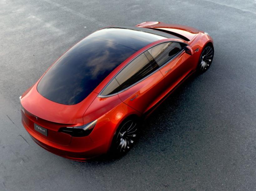 Tesla Model 3 (2017) : premières photos officielles