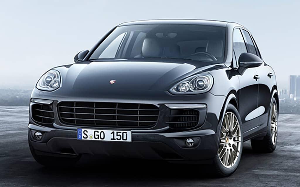 Porsche Cayenne Platinum
