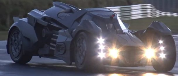 La célèbre Batmobile va participer au rallye Gumball 3000