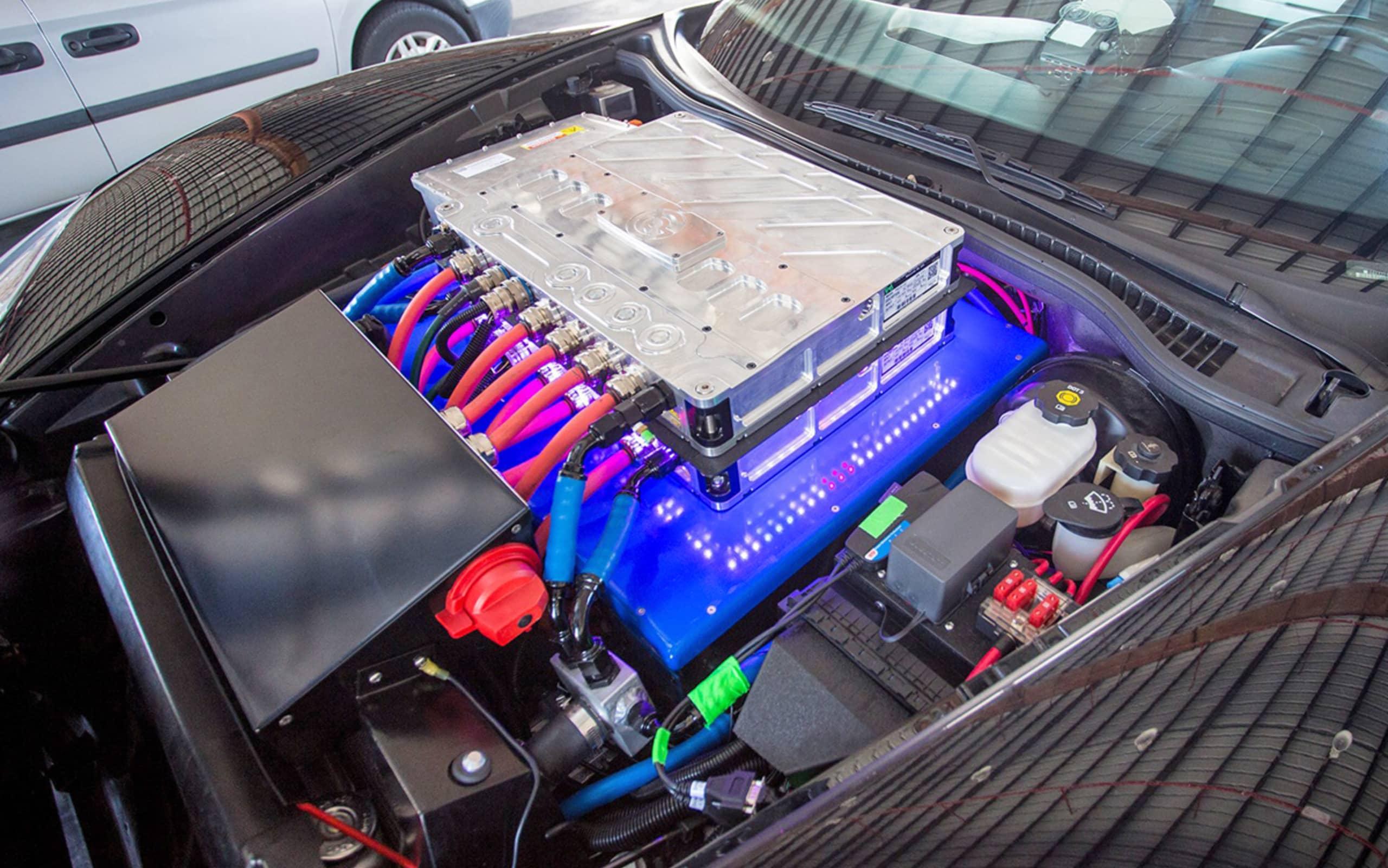 GXE : record du monde de vitesse pour une voiture électrique, 330,9 km/h 7