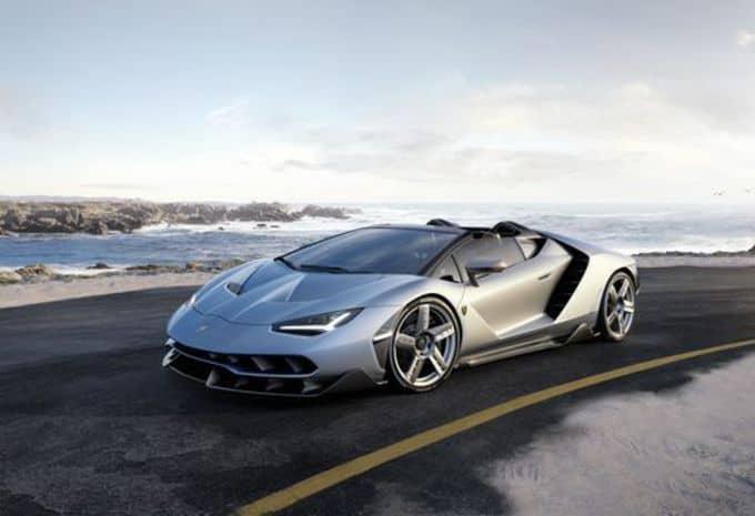Seul le beau temps convient à la Lamborghini Centenario Roaster 3
