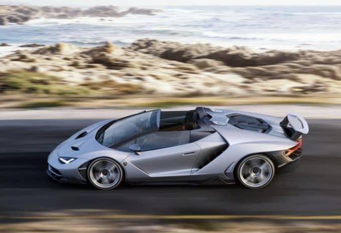 Seul le beau temps convient à la Lamborghini Centenario Roaster 4
