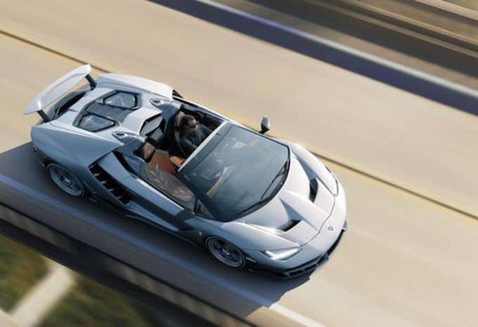 Seul le beau temps convient à la Lamborghini Centenario Roaster 6