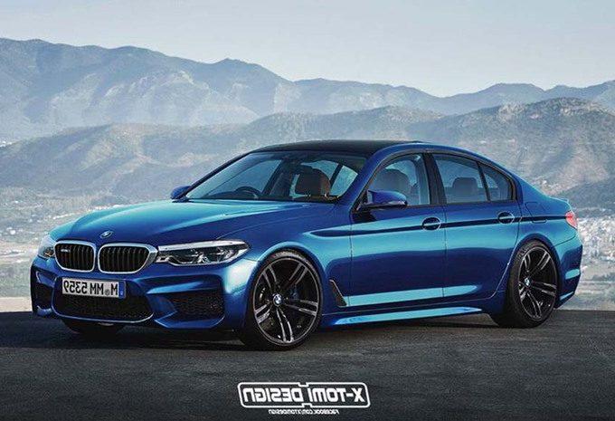 La future BMW M5 a été imaginée par des designers