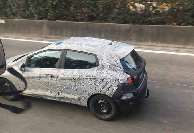 Des mulets de la 7e génération de la Ford Fiesta ont été surpris en essais sur routes