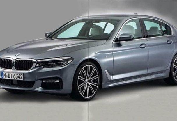 Premières images de la future BMW Série 5