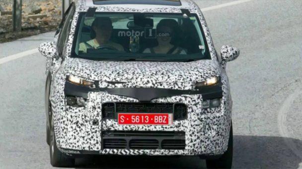 Citroën est en train de fignoler le C3 Picasso avant son retour