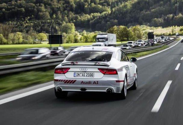 Audi a communiqué les résultats d'une année d'expérimentation de la conduite autonome