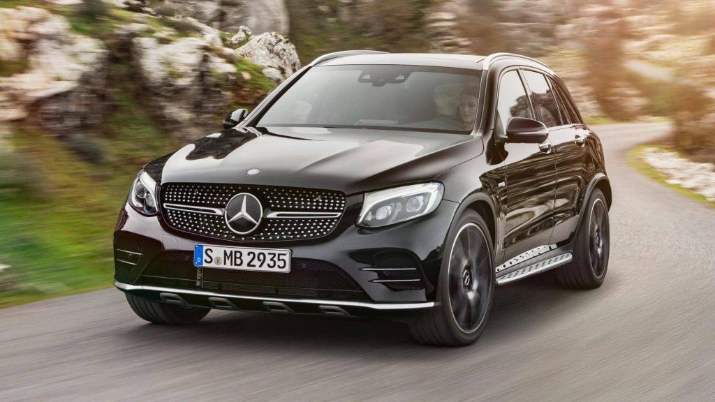 Mercedes GLC arrive dans une version 43 AMG 4Matic