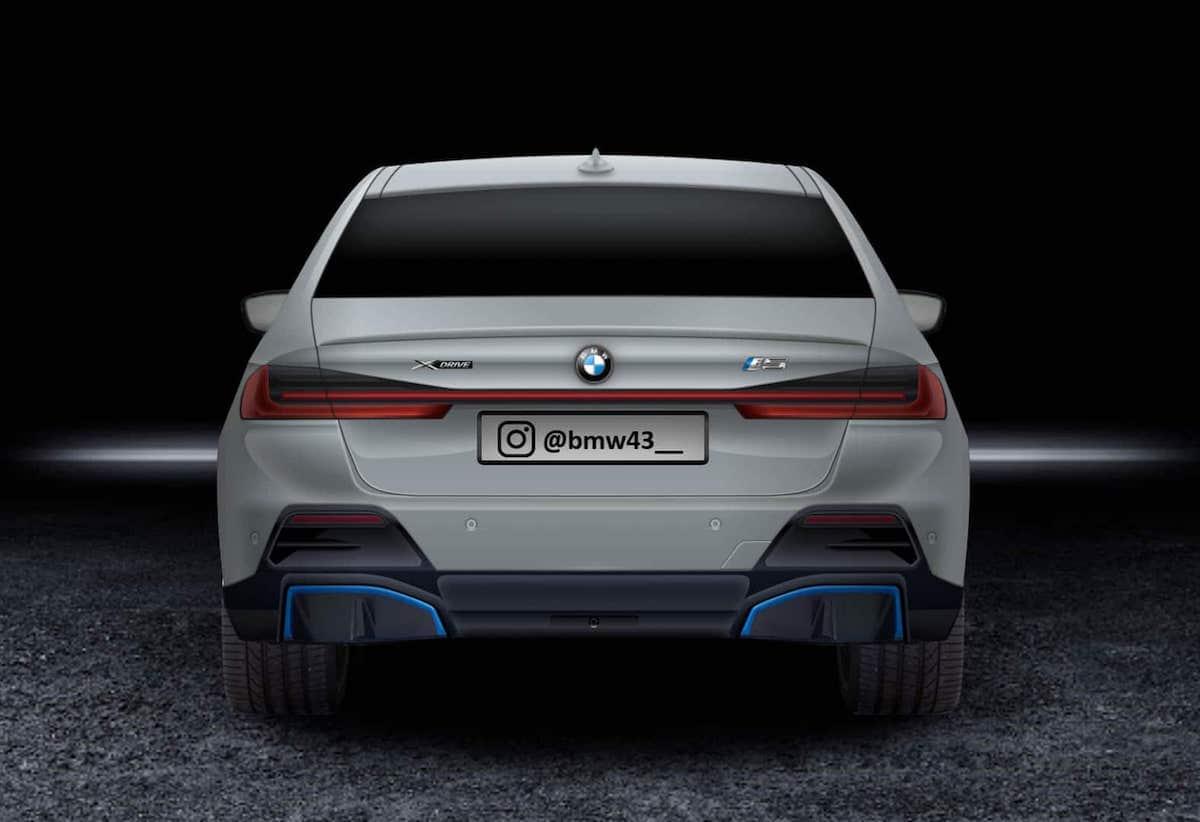 Voilà à quoi pourrait bien ressembler la banquette arrière d'une BMW i5